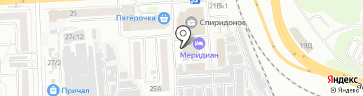 КУПЕЧЕСКИЙ ДВОР на карте Челябинска