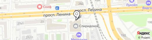 Светлый Дом на карте Челябинска