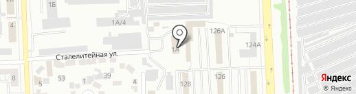 Челябинская таможня на карте Челябинска