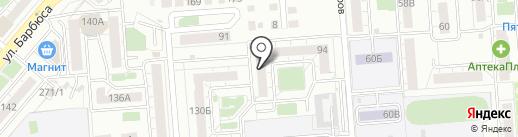 Пражка на карте Челябинска