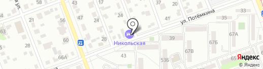 Люкс-лайн на карте Челябинска