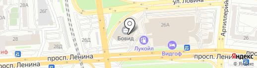 УралКолос на карте Челябинска