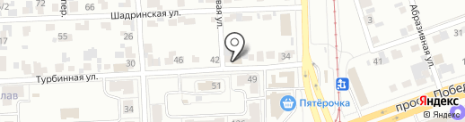 АВТОБОКС74 на карте Челябинска