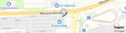 ПСК Урал на карте Челябинска