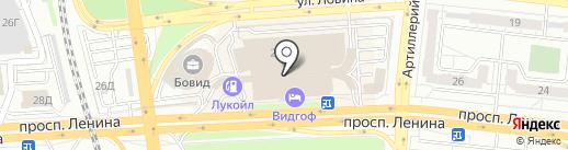 Магро на карте Челябинска