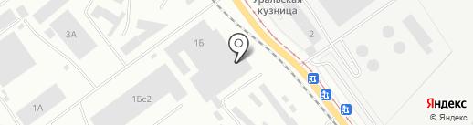 Келан на карте Челябинска