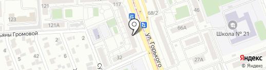 Уральский Гриль на карте Челябинска