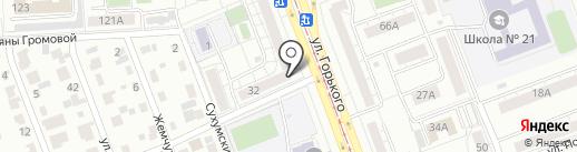 Триумф на карте Челябинска