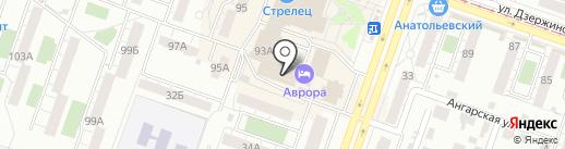 А-обивка на карте Челябинска