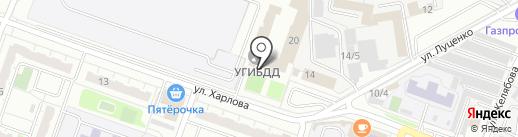 Межрайонный регистрационно-экзаменационный отдел на карте Челябинска
