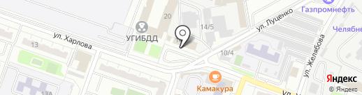 Адвокатский кабинет Тютикова И.Г. на карте Челябинска