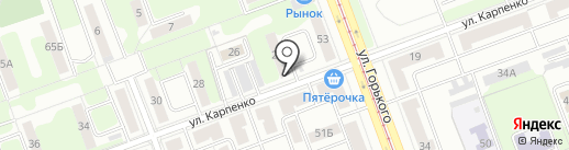 Ателье по пошиву головных уборов на карте Челябинска