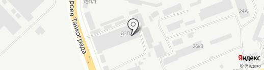 НОВАЛАЗЕР на карте Челябинска