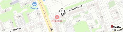 PERFORMANCE на карте Челябинска