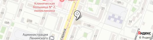 Vacuum на карте Челябинска