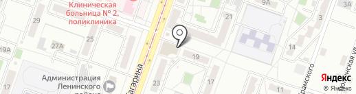 Lounge Room на карте Челябинска