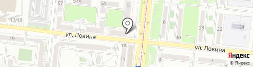Монетка на карте Челябинска