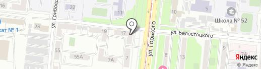 Доверие на карте Челябинска