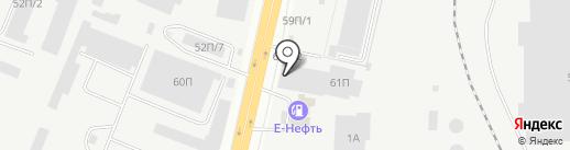 Абразив+ на карте Челябинска