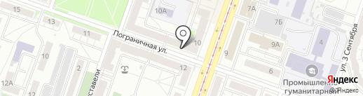 Хлебница на карте Челябинска