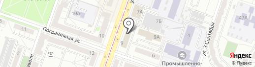 НИКА АВТО74 на карте Челябинска