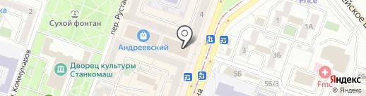Ильинка на карте Челябинска