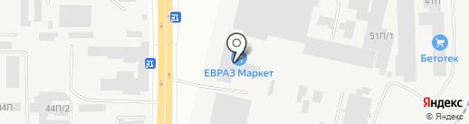Монитор на карте Челябинска