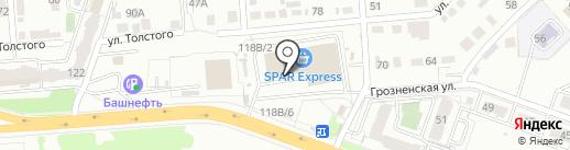 Мои документы на карте Челябинска