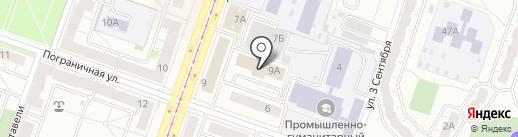 Сатурн-Сервис на карте Челябинска