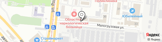 Бизнес-Комфорт на карте Челябинска