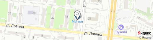 Айссервис на карте Челябинска