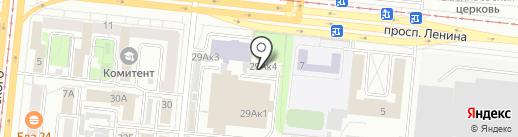КС-авто на карте Челябинска