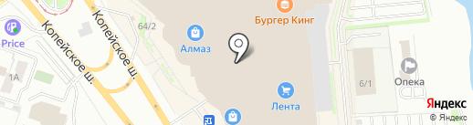 Парикмастерский магазин на карте Челябинска
