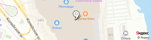 Аттракцион виртуальной реальности на карте Челябинска