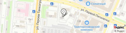 Магазин мужской одежды на карте Челябинска