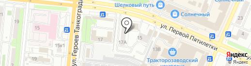 Магазин чая и кондитерских изделий на карте Челябинска