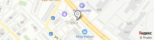 Proтектор на карте Челябинска