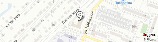 Антей Эвакуатор на карте Челябинска