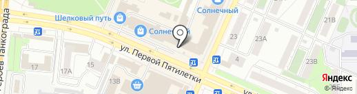 ПРОФЛИД на карте Челябинска