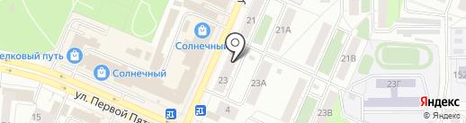 Печка на карте Челябинска