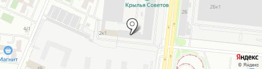Лига на карте Челябинска