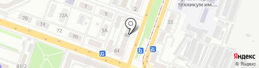 Бухгалтерская компания на карте Челябинска