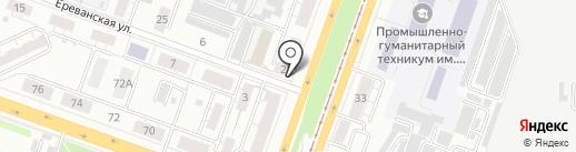 КИП-Сервис на карте Челябинска
