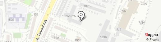 PitStop на карте Челябинска