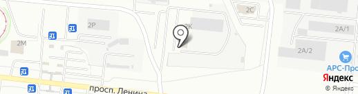 Офис-Контроль на карте Челябинска