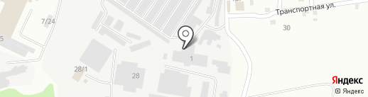 Док-Авто74 на карте Челябинска