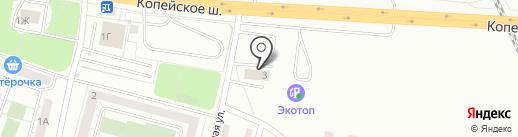 АВТОСТУДИЯ74 на карте Челябинска