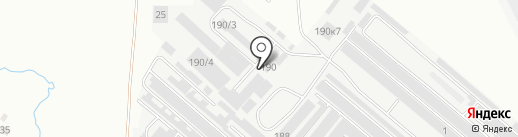 Ларионов и Ко на карте Челябинска