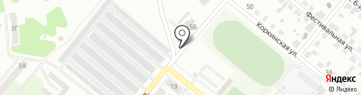 Шиномонтажная мастерская на карте Копейска