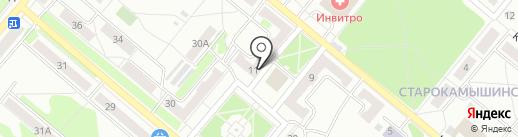 Магазин хозтоваров на карте Копейска